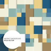 Abstract squares background — Stock Vector