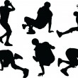 Vettoriale Stock : Breakdance - vector