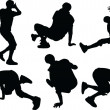 Vector de stock : Breakdance - vector