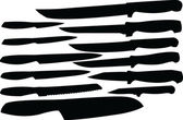 Cuchillos de colección - vector — Vector de stock