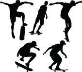 Skateboards - vector — Stock Vector