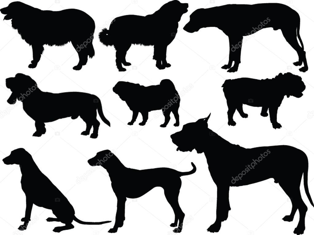 狗-手绘集合