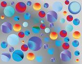 Burbujas - vector — Vector de stock