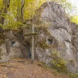 Foto Stock: Orthodox cave monastery in Ukraine
