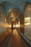 Interior of the underground church of St. Iova — Stock Photo