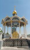 Pochaevskaya vavřín, pravoslavný klášter — Stock fotografie