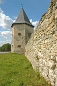 Tower of a medieval castle — Stock Photo