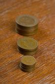 British coins,1950-2000 year — Stock Photo