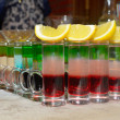 Colorful cocktails — Stok fotoğraf