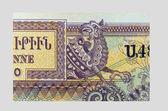 复古元素的钞票 — 图库照片