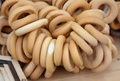 Dry bread-ring — Stockfoto
