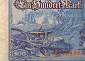 Banknote Kaiser's Germany — Stock Photo