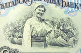 Old   banknotes Bulgaria, 1950 — Stock Photo