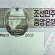 Vintage elements of paper banknotes, North Korea — Stock Photo #45776735