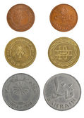 Set coins Bahrain dinar — Stock Photo