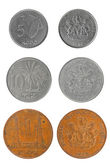 Set coins of the Republic of Nigeria — Stock Photo