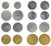 Set coins of Mexico — Stock Photo