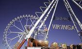 Ferris wheel in amusement park — Stockfoto