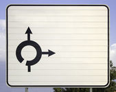 Signs direction — Stock Photo