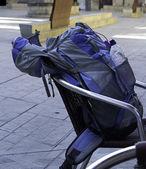 Backpack walk — Stock Photo