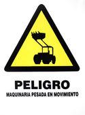 Danger machinery — Stock Photo