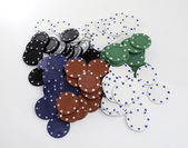 Poker game — Foto de Stock