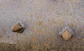 R, usty schrauben — Stockfoto