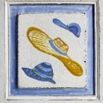 Handmade tile — Stock Photo #13891156