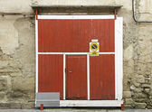 Garage door — Stock fotografie