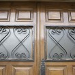 Foto Stock: Door decoration