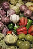 чеснок и овощи — Стоковое фото