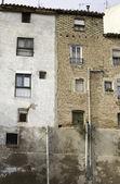 Viejas casas de ladrillo — Foto de Stock