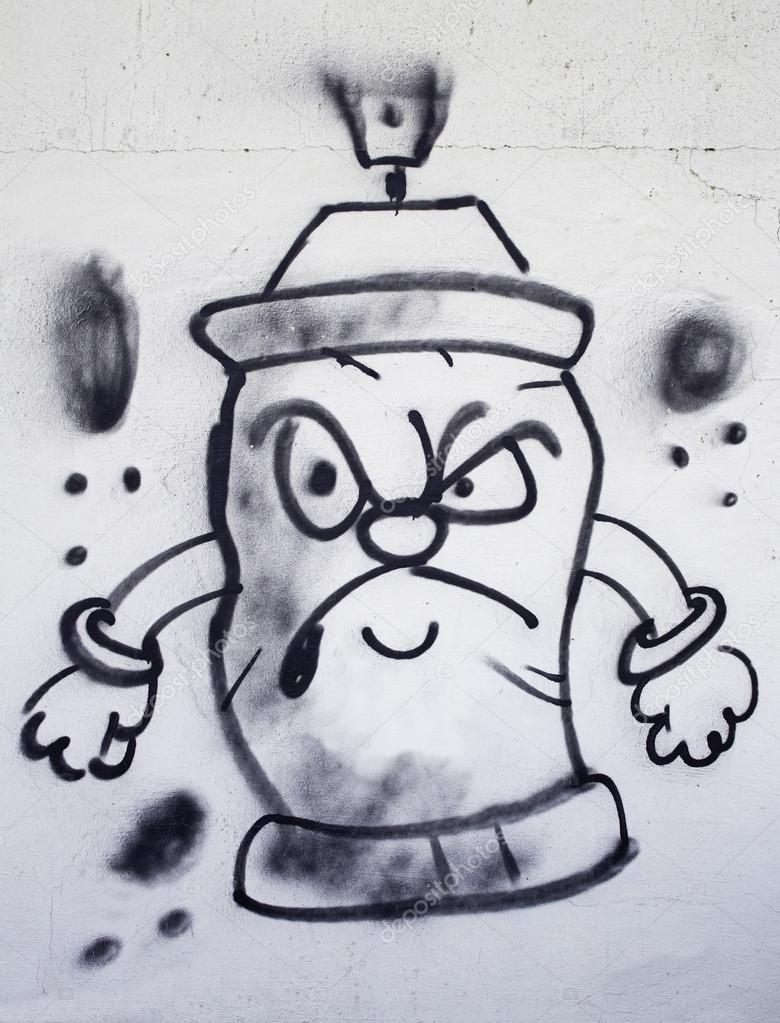 Pintura En Aerosol Graffiti Foto Editorial De Stock Celiafoto 14150294