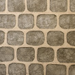 Wall of decorative stone - Stock Photo
