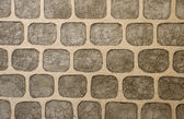 Wall of decorative stone — Stock Photo