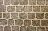 Wall of decorative stone — Stock Photo