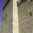 Tower of medieval castle - Stock Photo