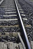 Rails routes of train — Stock Photo