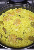 Cooked rice — Foto de Stock