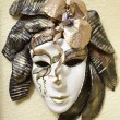 Handcrafted Venetian mask — Stock Photo
