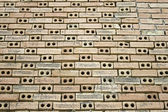 Staré a špinavé zdi — Stock fotografie