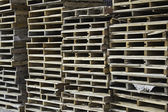Paletes de madeira — Foto Stock