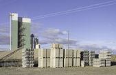 Construction material company — Stock Photo