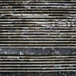 Closed metal door — Stock Photo