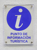 Information point — Stock Photo