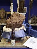 Creation of sculpture — Stock Photo