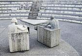 Escultura de pedra — Foto Stock