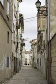 Village street — Stock Photo
