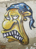 Graffiti Bandit — Stock Photo