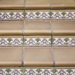 Stairs with tiles - Stock Photo